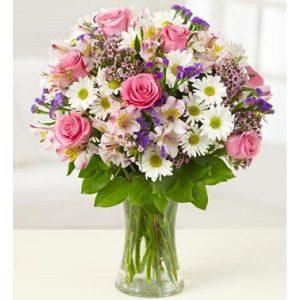 Gėlių puokštė Vasara
